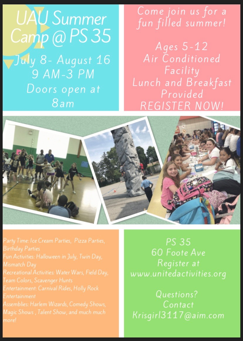 Summer Camp at PS 35